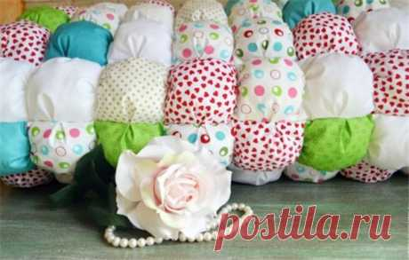 Одеяло бонбон своими руками – различие техник | Краше Всех