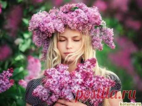 Девушка весна фото