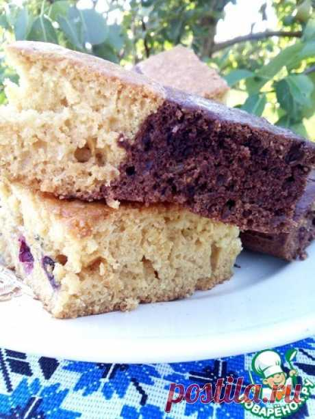 """Постный сладкий пирог """"Самый любимый"""" - воздушный, нежный...с чаем, без чая.."""