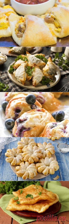15 быстрых и вкусных блюд из слоёного теста