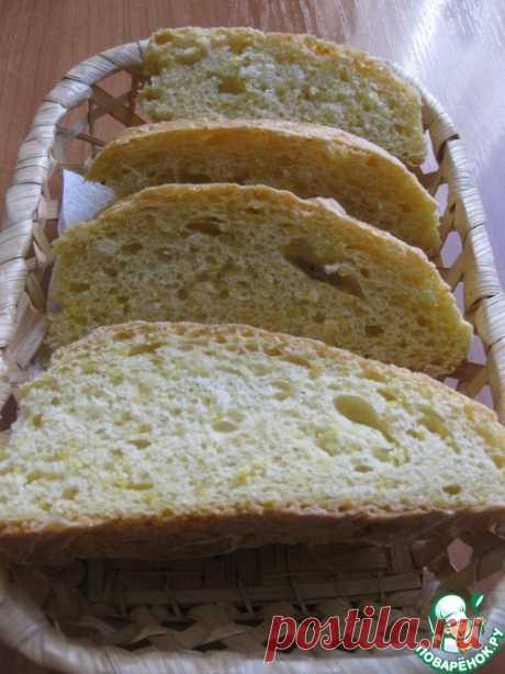 Сдобный хлеб с кукурузной крупой - кулинарный рецепт