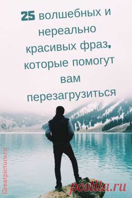 Эти фразы меня наполнили волшебством, каким-то глубинным пониманием мира, в каждой из них скрыта жемчужина мудрости. #цитаты #interesting #высказывания #lifestyle #самоеинтересное