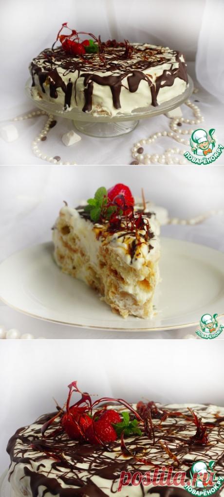 """Торт для любимого """"Дамские пальчики"""" – кулинарный рецепт"""