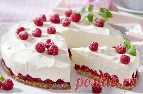 Ягодный рецепт: Сливочный десерт с малиной | Жизнь Цветущая | Яндекс Дзен