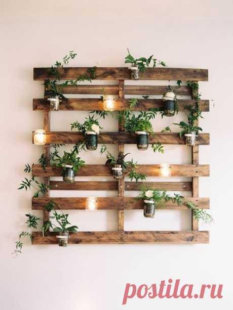 15 фантастических идей использования деревянных поддонов/паллет - Дачный участок - медиаплатформа МирТесен