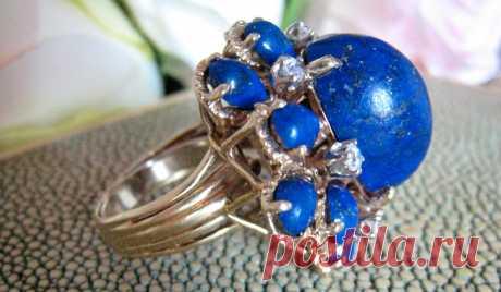 Небесно-синий лазурит – камень добра и любви!