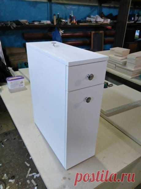 Шкафчик для ванной комнаты своими руками: идея — Сделай сам, идеи для творчества - DIY Ideas