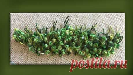 how to embroider stumpwork moss group www.craftyattic.com shows you how to embroider this stumpwork moss group.  All you need to know is included in the film and you can get your pure silk embroi...