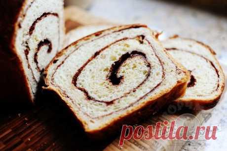 Чудесный домашний хлеб с корицей.