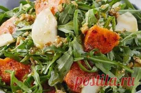 Тыквенный салат рецепт с фото - 1000.menu