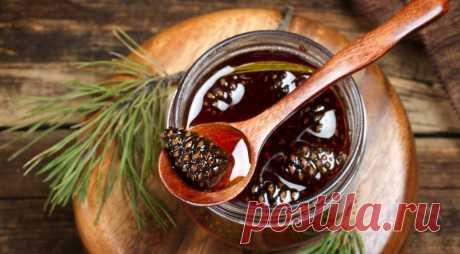 Варенье из шишек, пошаговый рецепт с фото