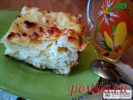 Слоеный пирог с брынзой. Автор: Людмила Головченко