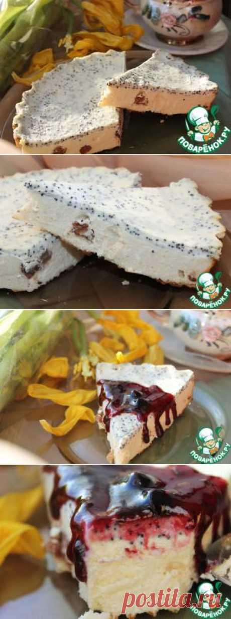 """Творожно-йогуртовая запеканка """"Маковая изюминка"""" - кулинарный рецепт"""