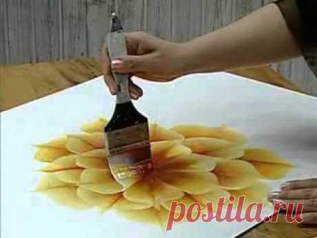 Малюємо квіти. Відео. - Вчимо малювати - Каталог статей - Персональный сайт