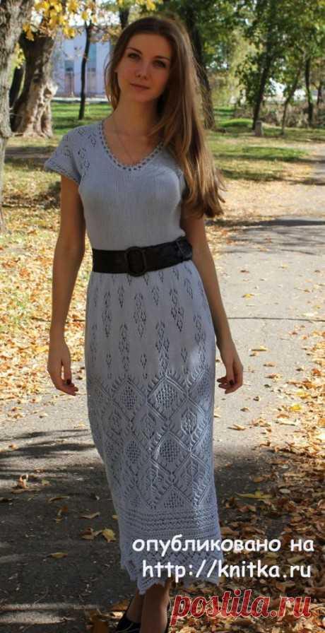 Платье Ювента по мотивам шетландских узоров, Вязание для женщин