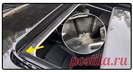 Проверьте эти 7 отверстий в машине – или ваш автомобиль пострадает от дождя