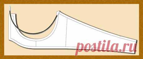 Как строить пояс бюстгальтера сразу по шаблону косточки - Блог Елены Фоменковой Приветствую вас, уважаемый мой читатель! Сегодня мы построим выкройку пояса для бюстгальтера с втачной овальной чашкой и с косточкой по основанию бюстгальтера. Картинка кликабельна: Но для начала — давайте разберёмся, как лучше строить пояс бюстгальтера — с чего начать? Если начать с построения чашки, затем под неё строить пояс, то выкройка будет точно соответствовать фигуре …