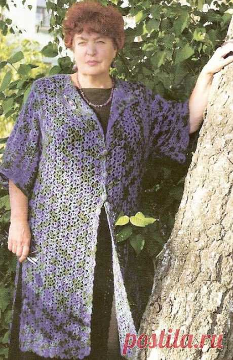 Beautiful patterns a hook and a cardigan for magnificent ladies