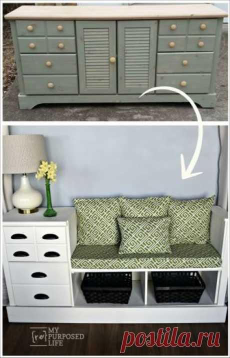 Оригинальные идеи переделок мебели — Сделай сам, идеи для творчества - DIY Ideas