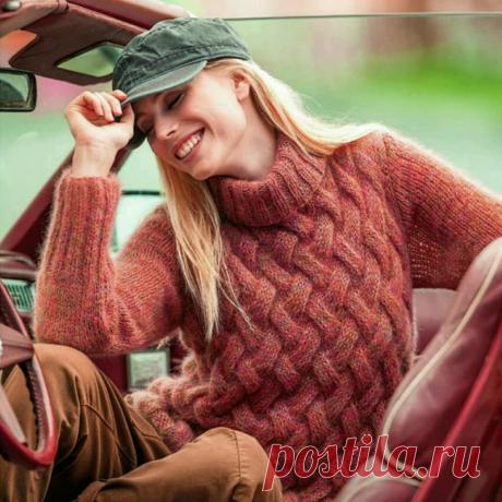 Неужели нашла! Неотразимые свитера со схемами.   Вязать легко и просто!   Яндекс Дзен
