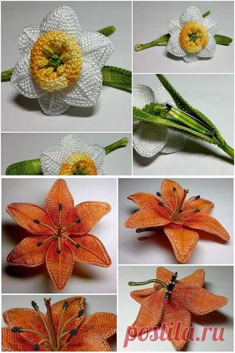 Вязаные цветы и фрукты | Записи в рубрике Вязаные цветы и фрукты | Копилочка рукоделия