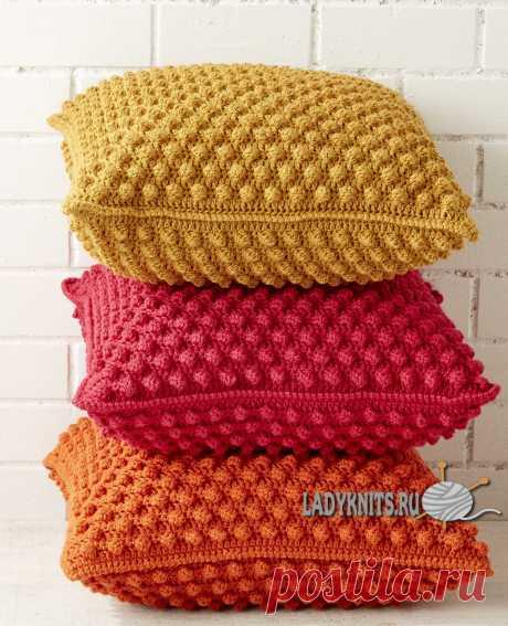 Pillows, padded stools