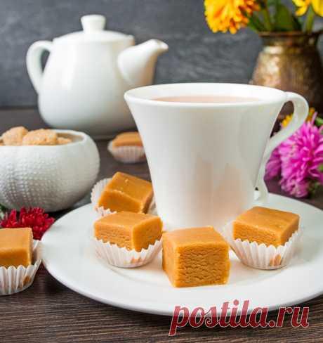Арахисовая помадка с медом