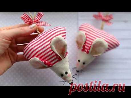 Символ года 2020 своими руками/Crochet mouse 2020/Christmas Ornaments
