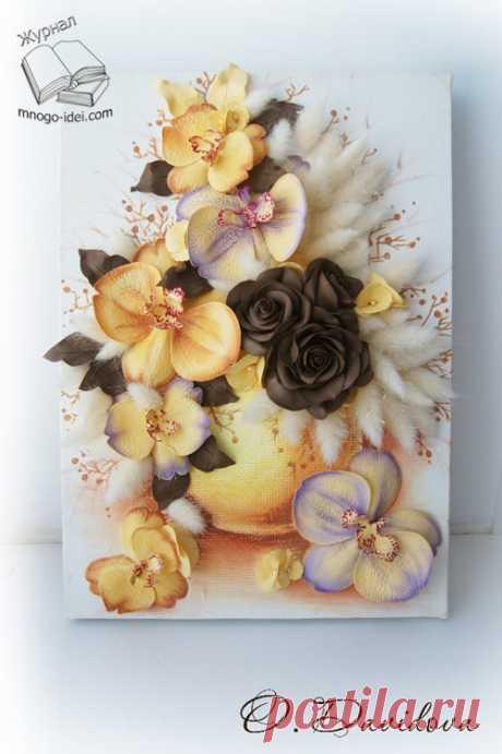 La revista Haz sammaster la clase la orquídea de foamirana | la Orquídea por las manos - la Revista Haz
