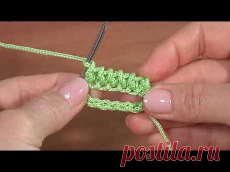 3D УЗОР КРЮЧКОМ для сумок, корзинок, чехлов и для кругового вязания чего-либо...