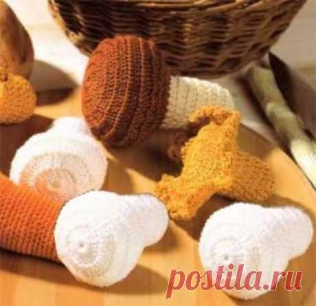 Обзорная статья Вязаная еда (фрукты, овощи, ягоды, грибы,сладости)