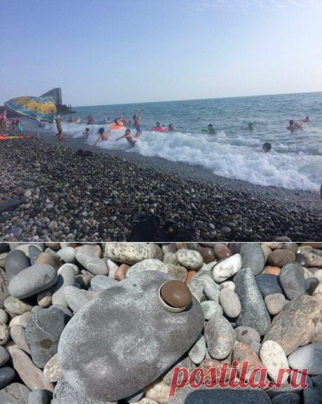 Сходили на море — покупались и нашли «дары» шторма | Жизнь и отдых в Сочи | Яндекс Дзен