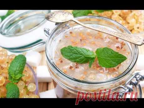 Белая смородина, рецепты приготовления варенья, желе, мармелада