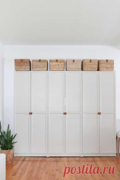 Ручки для шкафа *diy. Навесили дверцы на недорогой шкаф из Икеа или Леруа? Придайте ему шика и индивидуальности за счёт оригинальных кожаных дверных ручек:Читать дальше
