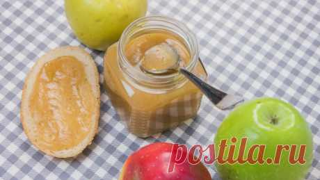 Готовим яблочное масло - чудесный вариант для утренних бутербродов!