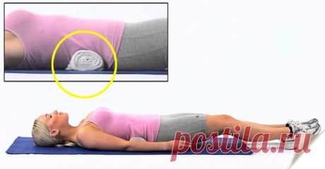 Exercises for the tightened belt and an equal back