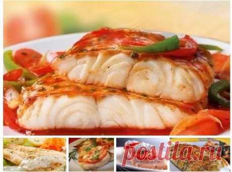 Пять лучших рецептов приготовления рыбных блюд!