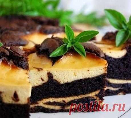 Шоколадно-банановый торт Сюрреалист / Удивительное искусство