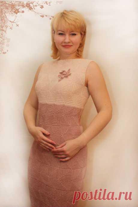 Вяжем платье от Oscar de la Renta из квадратов крючком – схема и мастер-классы на видео