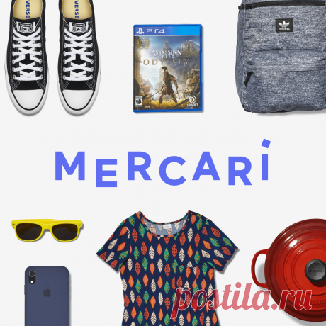 Mercari: The Selling App This is Mercari. The fast and easy way to sell or buy almost anything. List your item in minutes. Got something you don't use, never used or just outgrew? Sell it. Ship it. Get paid.