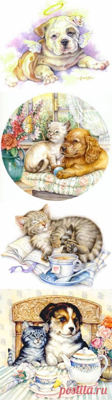 Иллюстрации Leesa Whitten. 2часть.