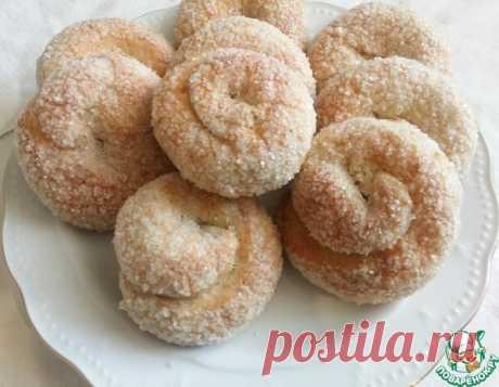 Слоистое сахарное печенье за 20 минут | ПОВАРЁНОК.РУ | Яндекс Дзен