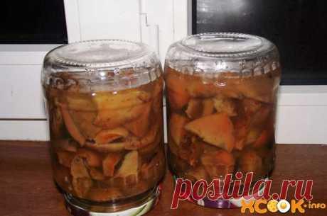 Рыжики маринованные - пошаговый рецепт с фото (картинками) по приготовлению на зиму