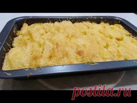 Запечёный картофель со свининой в духовке. - YouTube