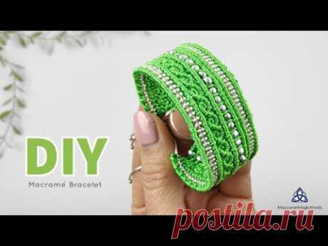 DIY Macrame Bracelet by MacrameMagicKnots