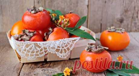 Хурма - описание продукта на Gastronom.ru