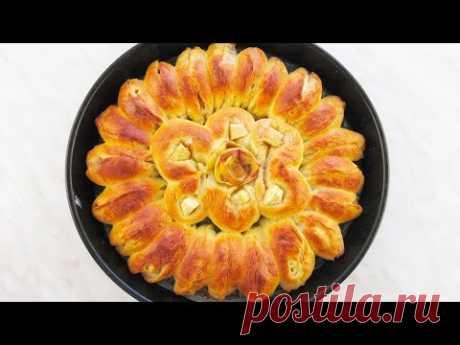 Отрывной яблочный пирог. Легко просто и красиво! — Кулинарная книга - рецепты с фото