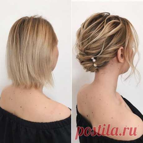 Идеи причёсок для коротких волос