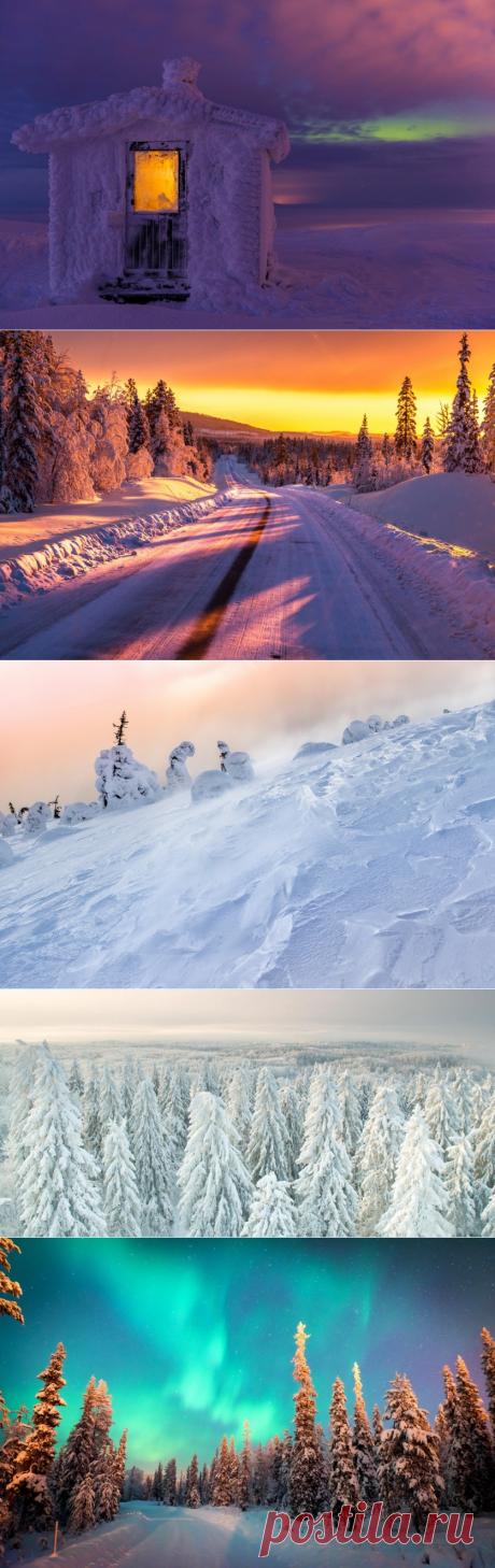 Там, где живет сказка… Удивительная Лапландия — Фотоискусство