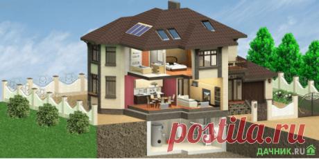 Этапы строительства частного дома с коммуникациями | 6 соток